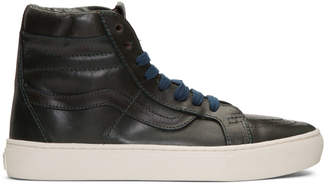 Vans Blue Horween Edition Sk8-Hi Cup LX Sneakers