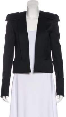 Balmain Wool Open Front Jacket w/ Tags