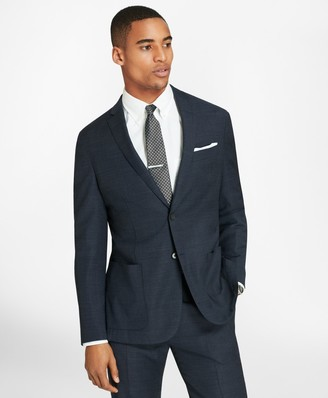 Brooks Brothers BrooksCloud Two-Button Wool Suit Jacket