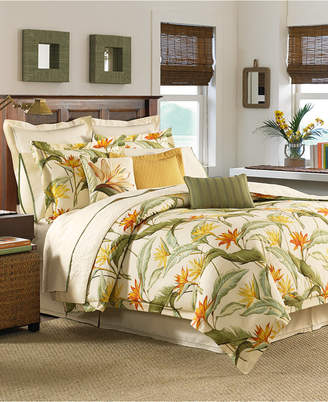 Tommy Bahama Home CLOSEOUT! Birds of Paradise Queen 4-Pc. Comforter Set