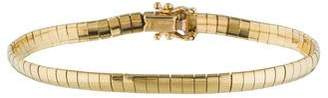 14K Omega Chain Bracelet