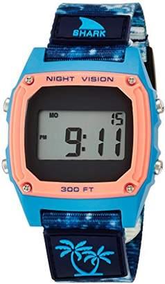 Freestyle (フリースタイル) - [フリースタイル]Freestyle 腕時計 SHARK CLIP LUKE DAVIS デジタル 100m防水 ナイロンベルト ブルー ウェーブ 101001 【正規輸入品】