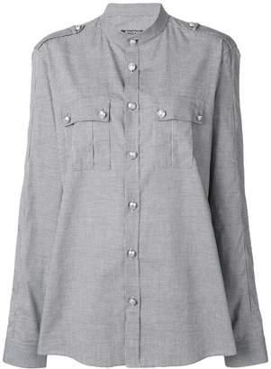 Balmain military style shirt