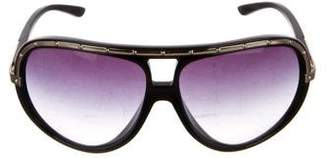 Marc Jacobs Studded Aviator Sunglasses