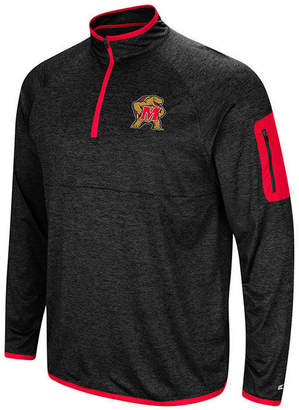 Colosseum Men's Maryland Terrapins Amnesia Quarter-Zip Pullover