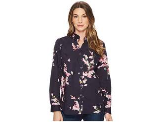 Joules Lucie Printed Classic Shirt Women's Clothing