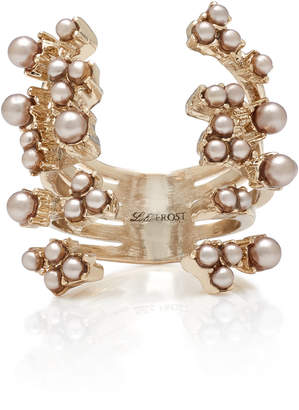 Lulu Frost Jackie Gold-Plated Faux Pearl Ring