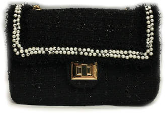 Chanel INZI Chenille Bag w Pearl Trim