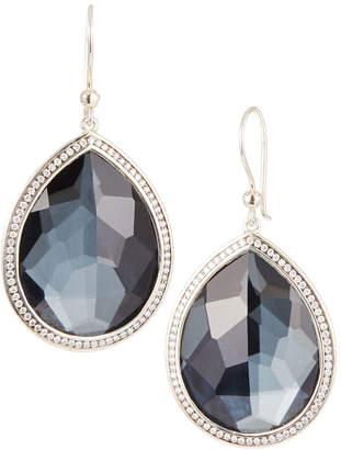 Ippolita Lollipop® Stella Hematite & Diamond Drop Earrings