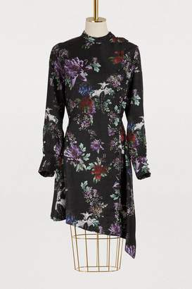 Each X Other Asymmetric floral print dress