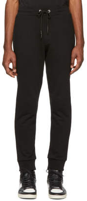 McQ Black Logo Lounge Pants