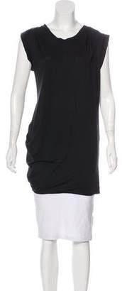 3.1 Phillip Lim Silk-Blend T-Shirt