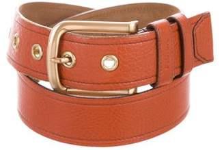 Prada Leather Buckle Belt