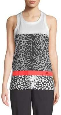 adidas by Stella McCartney Leopard Print Tank Top