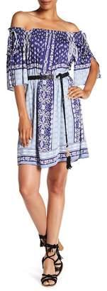 Hale Bob Off-the-Shoulder Dress