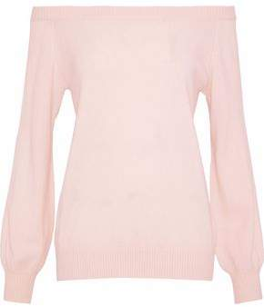 Rebecca Minkoff Shelby Off-The-Shoulder Wool And Cashmere-Blend Sweater