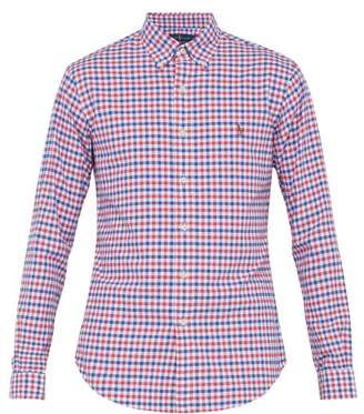 Polo Ralph Lauren Checked Cotton Shirt - Mens - Red Multi