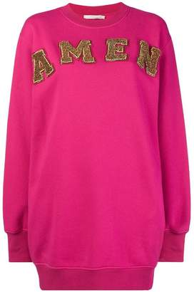 Amen logo sweatdress