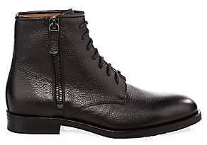 Aquatalia Men's Vladimir Leather Ankle Boots