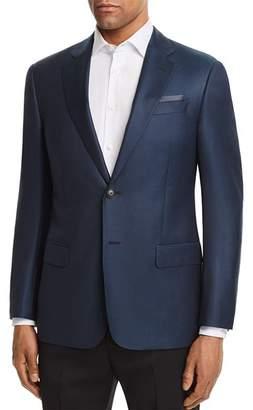 Emporio Armani Dotted Regular Fit Sport Coat