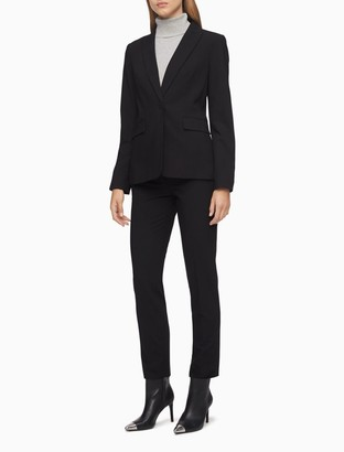 Calvin Klein slim black suit pants