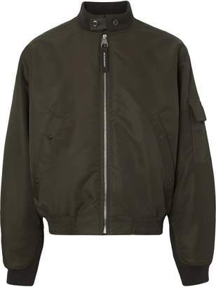 Burberry Padded Nylon Bomber Jacket