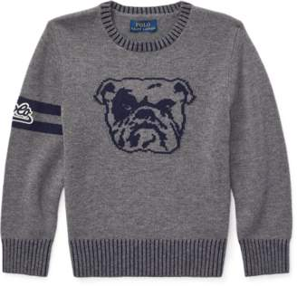 Ralph Lauren Dog Merino-Cotton Jumper