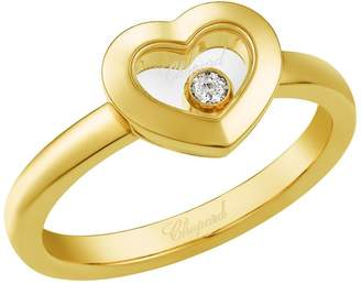 Chopard Yellow Gold Happy Diamonds Icons Heart Ring