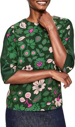 Boden Leonora Floral Blouse
