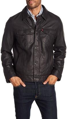 Levi's Classic Faux Leather Trucker Jacket