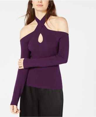 Bar III Keyhole Sweater