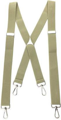 Romanlin Mens Suspenders with Swivel Hooks Heavy Duty Big and Tall Adjustable Braces