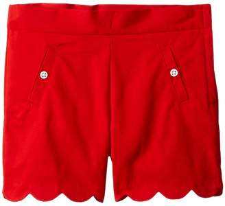 Janie and Jack Scalloped Shorts with Side Pockets Girl's Shorts