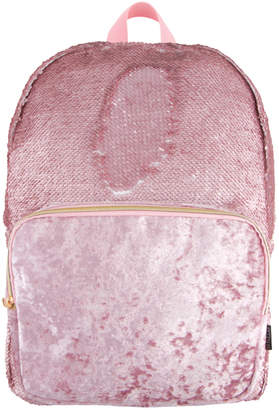 Fashion Angels Magic Sequin Backpack- Pink Glitter/ Velvet Pocket