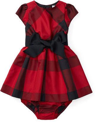 Ralph Lauren Plaid Taffeta Dress & Bloomer $59.50 thestylecure.com