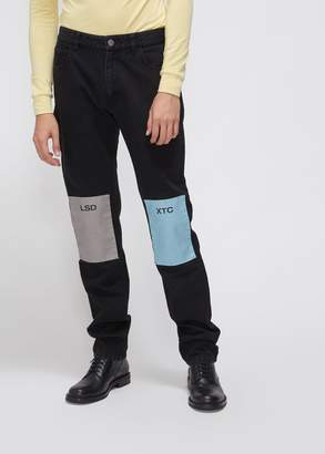 Raf Simons Regular Fit Patch Jean