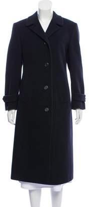 Paul Stuart Wool & Cashmere-Blend Long Coat