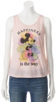 "Disney's Mickey Mouse Juniors' ""Happiness"" Graphic Tank $22 thestylecure.com"