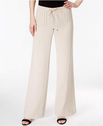 Calvin Klein Wide-Leg Drawstring Pants $89.50 thestylecure.com