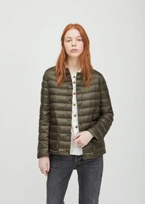 Aspesi Nylon Puffer Jacket Green