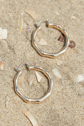 Urban Outfitters Cocoa COCOA & Exclusive Bamboo Hoop Earring