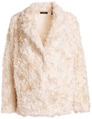9eb7f96697 Theory Clairene Faux Fur Teddy Coat