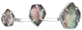 Kendra Scott Naomi Two-Finger Pentagonal Ring