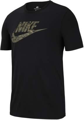 Nike Men's Camoflauge Logo Tee