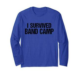 I Survived Band Camp T-Shirt Distressed Marching Band