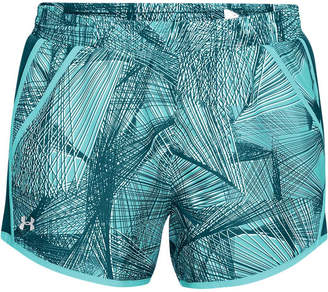 Under Armour Womens Fly By Printed Shorts