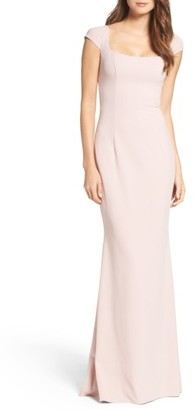 Women's Katie May Georgia Crepe Gown $295 thestylecure.com