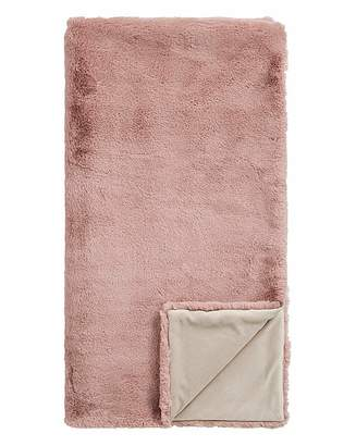 Fashion World Children's Luxury Faux Fur Throw
