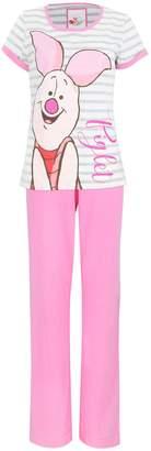 Disney Winnie the Pooh Womens Piglet Pajamas