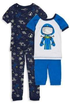 Freestyle Little Boy's Four-Piece Space Cadet Pajama Set